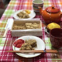ルクルーゼ/イッタラ/食器/カトラリー/キッチン雑貨/食卓/... まずは今日のおやつ😋 とろっとろで美味し…(1枚目)