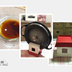 プリン/バーミキュラ/鍋ふたスタンド 🏠お家型の鍋ふた置きです❣️ お家をひっ…