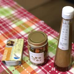 アミング/雑貨屋さんの調味料 先週 近所の雑貨屋さんで買った ・焼き秋…