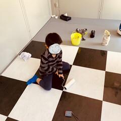 インテリア/わたしの手作り/DIY/ガレージハウス ㊗️ガレージハウスを建てました 趣味DI…(3枚目)