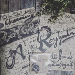 男前インテリア/男前雑貨/男前ポスター/素敵便/雑貨/住まい/... カッコいい❤️落書きポスターが届きました…