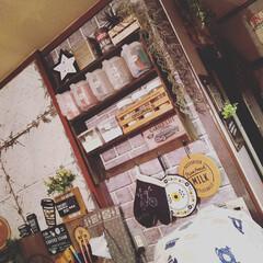 カフェ風インテリア/男前インテリア/賃貸インテリア/賃貸リノベーション/キッチンリメイク/フォロー大歓迎/... キッチンのリメイクも ぼちぼちやってます…