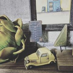 賃貸インテリア/男前インテリア/男前/ジャンク/Seria/セリア/... 100均リメイク☆  セリアのbusst…