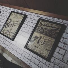 男前インテリア/男前雑貨/男前ポスター/素敵便/雑貨/住まい/... カッコいい❤️落書きポスターが届きました…(2枚目)