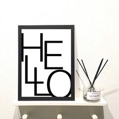 フォロー大歓迎/冬/おうち/ハンドメイド/DIY/キッチン雑貨/... 安くて可愛いハンドメイドポスター♡ご購入…(1枚目)