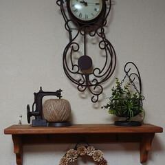 藤かご/松ぼっくりリース/リース/リミアの冬暮らし/DIY/雑貨/... おはようございます🙇 きれいな色に抜けて…
