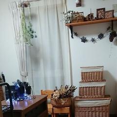 クリスマスインテリア/ライト/クリスマス2019/リミアの冬暮らし/ダイソー/セリア/... おはようございます🙇 我が家も少しずつク…