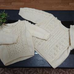 昔の思い出/子ども服/手編み/ハンドメイド/暮らし/リミアな暮らし こんばんは🙇  ...昔々に兄妹お揃いで…