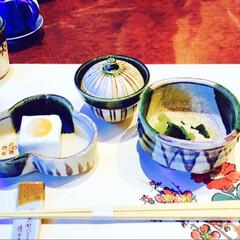 誕生日会/誕生日/記念日ごはん/記念日/思い出/冬の思い出/... お誕生日会🎂 大好物の湯葉の懐石料理😋💕…