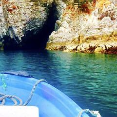 海/絶景スポット/絶景/観光スポット/観光/冬の思い出/... 青の洞窟へ  【 浄土ヶ浜マリンハウス …