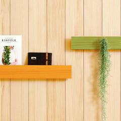 インテリア部材/長押/見せる収納/ウッドワン/木十彩 KITOIRO/無垢の木/... 無垢の木を使用した後付けタイプの「デザイ…