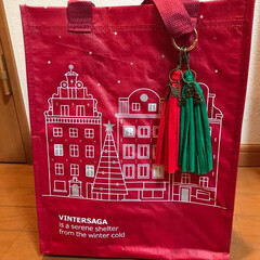 vintersaga/IKEA IKEAのクリスマスバック VINTER…