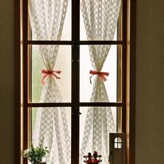 ドア/セリア/窓/飾り/キャンドゥ/窓枠/... 窓枠をつくったはめ殺しの窓。 キャン★ド…