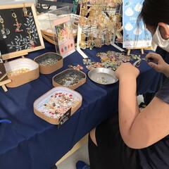 ワークショップ/ハーバリウム/南部市場 昨日 通りかかった南部市場(横浜)が き…