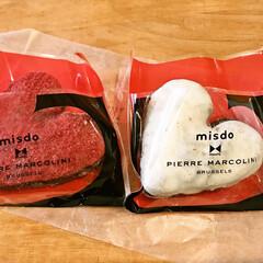 ピエールマルコリーニコレクション/ピエールマルコリーニ/ミスタードーナツ 今大人気のミスドのドーナツ。 友人が食べ…(1枚目)