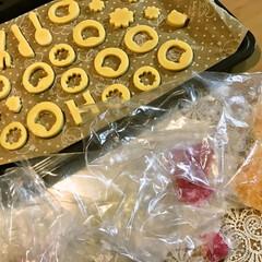 飴/宿題/ステンドガラスクッキー/手作りクッキー 休校中の宿題に「料理」があり 娘は昔お料…