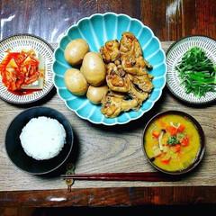 和食/おうちごはん/ごはん/夕飯/鶏と卵のさっぱり煮/グルメ/... 我が家の定番和食! 鶏と卵のさっぱり煮(…(1枚目)