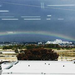 聖蹟桜ヶ丘/多摩川/虹/リフォームプライス/雨上がり 本社オフィスからの眺めです。   ラ…