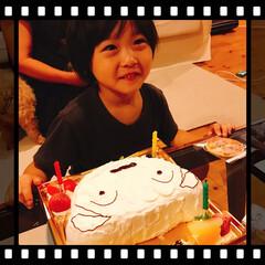 孫/お誕生日 💕ななと5歳💕 ハッピーバースデー🎂🎉 …