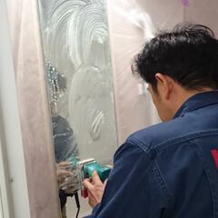 住宅修理/修繕/ハウスクリーニング/メンテナンス 浴室の鏡ウロコ落とし♪ LOHAS CL…