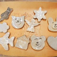 箸置き/手作り/レッスン/体験/陶芸教室/陶芸/... 先月末に作った 三女の手作り箸置きが 焼…