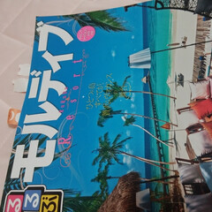 ブルー 長女が新婚旅行に買った旅行誌ですがブルー…