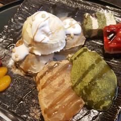 ケーキ/ほうじ茶アイス/わらびもち/和風パフェ/おしゃれカフェ/和カフェ/...  カフェtime💕