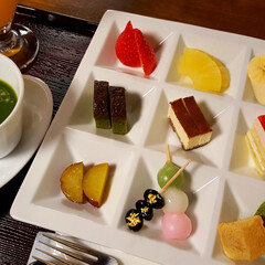 抹茶好き/抹茶スイーツ/和スイーツ/おしゃれカフェ/カフェ時間/カフェ巡り/... 抹茶フォンデュ💕
