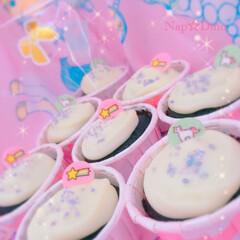 バレンタインデー/ゆめかわいい/チョコレート/ユニコーン/マドレーヌ/星/... ✨夢のかけらチョコマドレーヌ🧁