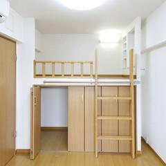 マンションロフト/ロフト/クローゼット/江戸川区/西葛西 マンション最上階の天井解体することで生ま…
