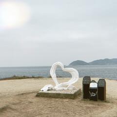 唐津市 波戸岬/海/恋人の聖地/フォロー大歓迎/はじめてフォト投稿/おでかけ/... 唐津の海に行ってきました−♡  晴れてた…