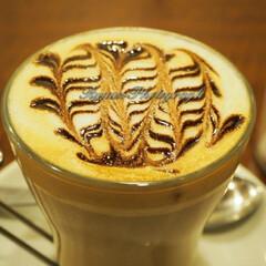 フォロー大歓迎/お出かけ/カフェ/INAZUMAcafe/チョコクッキーマキアート/生ハムシーザーサンドイッチ/... 荻窪にあるINAZUMA cafeのチョ…(1枚目)