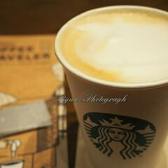 期間限定メニュー/スターバックスコーヒー/カフェ/お出かけ/フォロー大歓迎 スタバの期間限定メニューのバタースコッチ…(1枚目)
