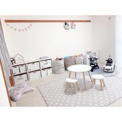 キッズテーブル/おもちゃ収納/子供部屋/キッズスペース/カラーボックス/子ども収納/...