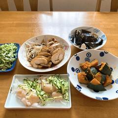 おうちごはん/ランチ/時短レシピ/ラク家事 作り置き食材とお昼のカルボナーラ作りなが…