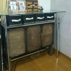 2×4材/カスガイ/ベニヤ板/折り扉/折れ扉/カラボリメイク/...