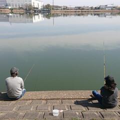 春のフォト投稿キャンペーン/LIMIAおでかけ部/おでかけ/おでかけワンショット 春休みの思い出、釣り(1枚目)
