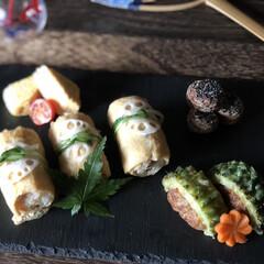 はらぺこグルメ/フォロー大歓迎/LIMIAごはんクラブ/おうちごはんクラブ/LIMIA手作りし隊/暮らし/... 巻きいなり 使いかけの野菜で五目寿司 し…(1枚目)