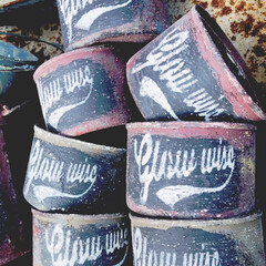 多肉寄せ植え/リメ缶/リメイク缶 めっちゃ暑くならない前にリメ缶作り♡ 秋…(2枚目)