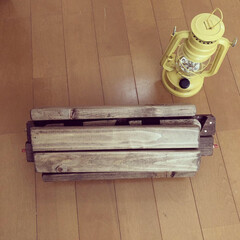 手作り/キャンプギア/キャンプ/コンパクト/机/DIY/... キャンプの焚き火用の机をDIYしました☺…(4枚目)