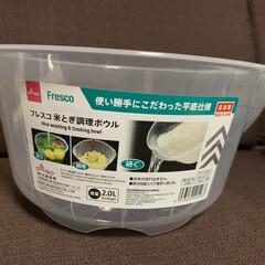 調理器具/100均/キッチン/ダイソー/雑貨 ダイソーで購入した大きめボウル。 米を研…