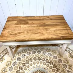 おしゃれテーブル/棚ラック/センターテーブル/サイドテーブル/キッチン収納/カフェテーブル/... LAVIE24「ラヴィ24」の商品をご覧…(3枚目)
