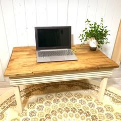 おしゃれテーブル/棚ラック/センターテーブル/サイドテーブル/キッチン収納/カフェテーブル/... LAVIE24「ラヴィ24」の商品をご覧…(2枚目)