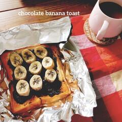 おうちごはん/暮らし 基本白米派ですが、たまにはトースト生活し…
