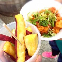 フェス飯/京都音楽博覧会/フェス/おでかけ/グルメ/フード/... フェス飯‼︎ 何を食べても美味い♡♡
