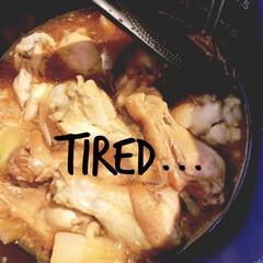 おうちごはん/簡単/時短レシピ/ラク家事 仕事から帰ってきて、  あぁーもう疲れた…