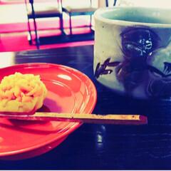 和菓子/抹茶/浄妙寺/鎌倉/わたしのごはん/おでかけ/... 鎌倉の浄妙寺の中にある茶席にて☺︎  こ…