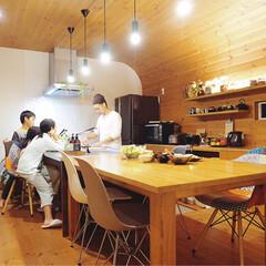 ダイニングキッチン/ダイニング/ステンレスキッチン/マイホーム/キッチン/フォロー大歓迎/... 我が家のキッチン♡  結構前の写真ですが…
