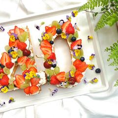 誕生日パーティー/素敵な暮らし/丁寧な暮らし/誕生日/誕生日ケーキ/ナンバーケーキ/... 旦那はんもうすぐBIRTHDAY♡  …