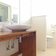 洗面所/フォロー大歓迎/インテリア/家具/イケア/住まい/... 久しぶりに洗面所の写真を撮りました〜。 …